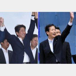 安倍政権の命運を問う参院選(C)日刊ゲンダイ