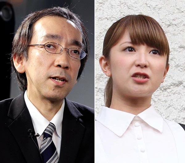 新垣隆(左)はトバッチリ…/(C)日刊ゲンダイ
