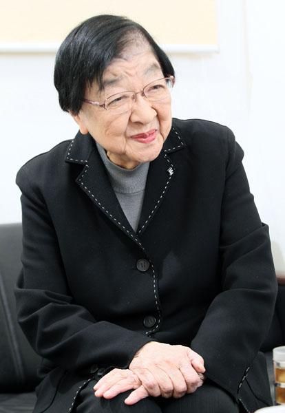 現役最高齢プロデューサーの石井ふく子さん(C)日刊ゲンダイ