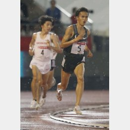 日本陸上選手権の1万メートルで優勝