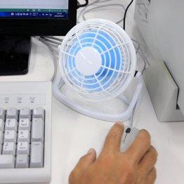 【卓上扇風機】暑がりな人のデスクにぜひ一台
