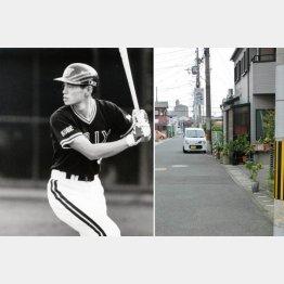野球ごっこをした場所(左)/(C)日刊ゲンダイ