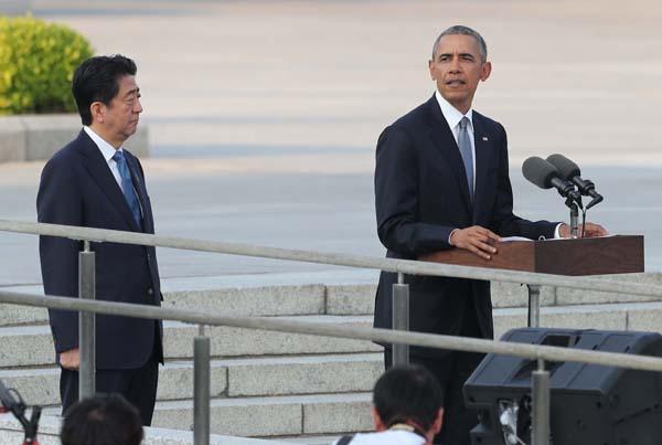オバマ大統領は「核」を推進した(C)日刊ゲンダイ