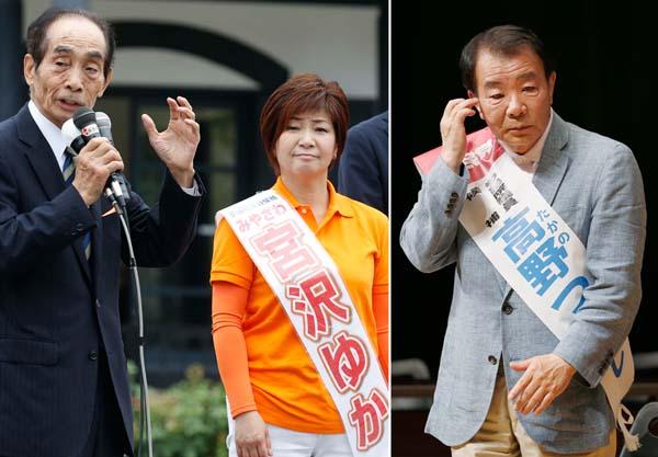 引退する副議長がバックアップ(左)と自民支持層の半分がソッポ/(C)日刊ゲンダイ