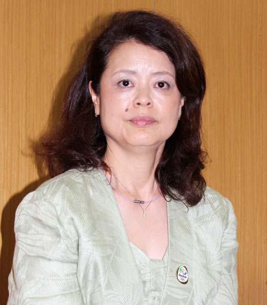 芝スミ子さんは昨年6月に強化部長に就任(C)日刊ゲンダイ