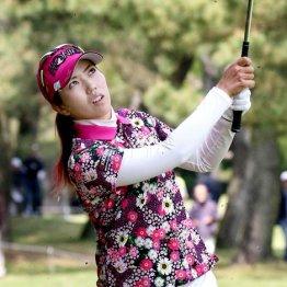 笠りつ子 ゴルフをシンプルに考えプレーしているのが強み