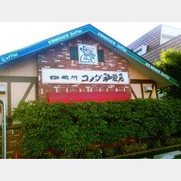 名古屋を中心とするコーヒーチェーン(C)日刊ゲンダイ