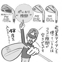 """今どきの""""飛び系""""アイアンセットには48度ウエッジが必須"""