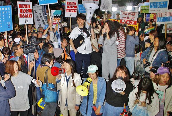 SEALDsの声は若者に届かない?(C)日刊ゲンダイ