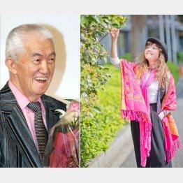 永六輔(左)への感謝を語る木の実ナナ/(C)日刊ゲンダイ