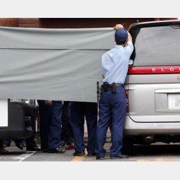 死体遺棄容疑で送検される男子生徒