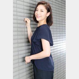 文芸誌の編集者役を演じる(C)日刊ゲンダイ