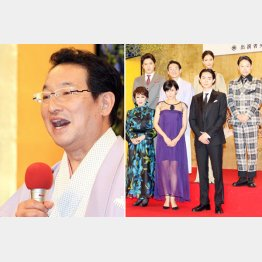 NHK大河「おんな城主 直虎」会見に登場(C)日刊ゲンダイ