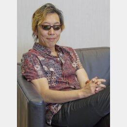 著者の馳星周氏(C)日刊ゲンダイ