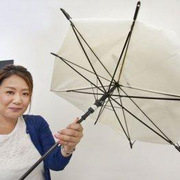 """世の中にある全ての傘をこの""""壊れない傘""""に替えていきたい"""