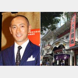 「七月歌舞伎」で上演中(C)日刊ゲンダイ