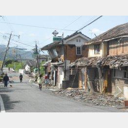 震度7の揺れに2度見舞われた熊本地震
