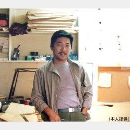 自身のブランドを立ち上げて起業した29歳のころ(提供写真)
