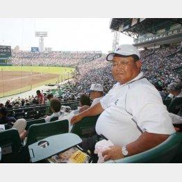 元横浜高校野球部部長の小倉清一郎氏(C)日刊ゲンダイ
