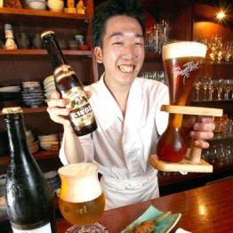 焼き鳥・新橋 弾力ある甲斐路シャモはベルギービールに合う