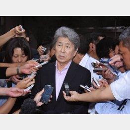 野党統一候補として出馬した鳥越俊太郎氏