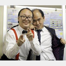 斎藤(右)はハリー・ウィンストンの婚約指輪を購入(C)日刊ゲンダイ