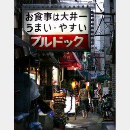 """かつては""""ちょんの間""""もあった(C)日刊ゲンダイ"""