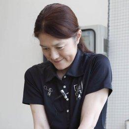 増田能子プロ<1> アドレスで体から無駄な力を抜く