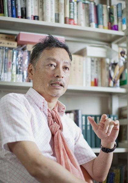 島田雅彦氏は83年に作家デビュー(C)日刊ゲンダイ