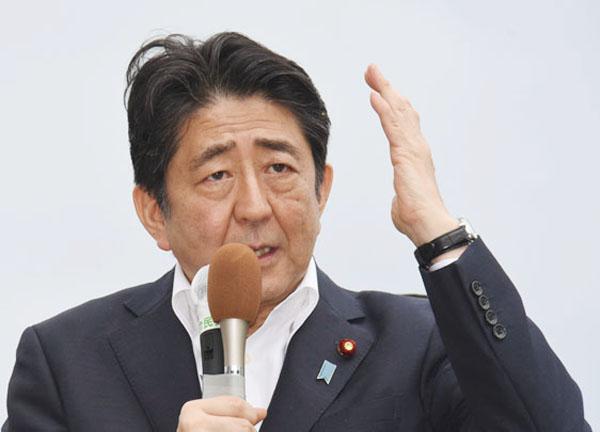 「アベノミクス終焉」の見方を払拭したい安倍首相(C)日刊ゲンダイ