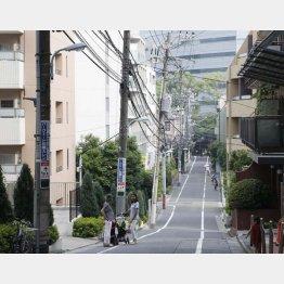 地中化へ(C)日刊ゲンダイ