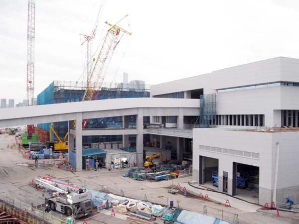 豊洲新市場は11月7日開場(C)日刊ゲンダイ