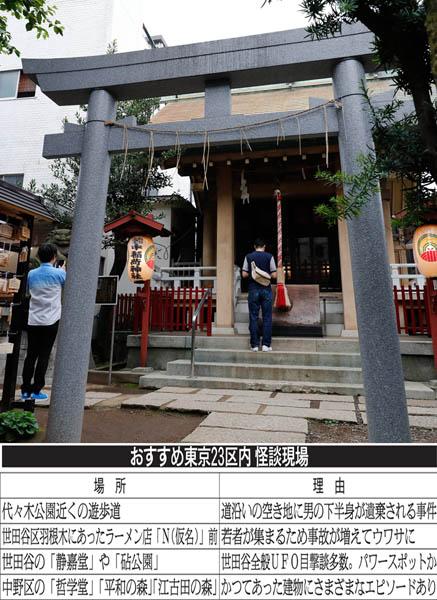 皆中稲荷神社は戦後、本殿下に地下道が発見された(C)日刊ゲンダイ