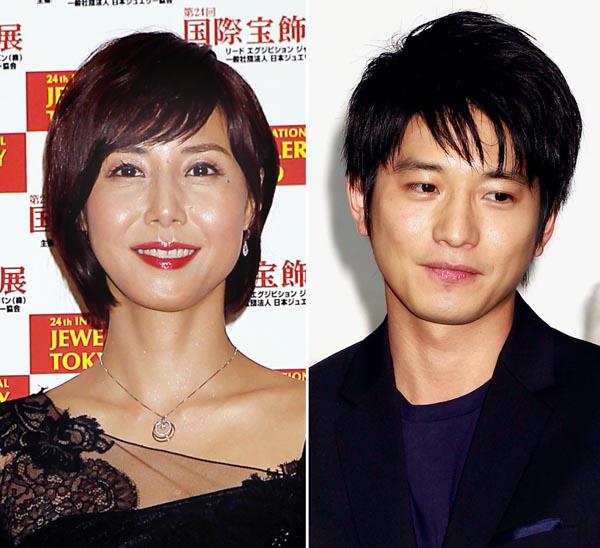 松嶋菜々子(左)と向井理の主演ドラマは共に低調(C)日刊ゲンダイ