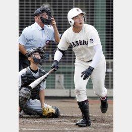 西東京大会で本塁打を打ったが…