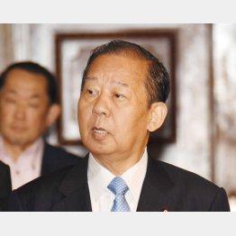 幹事長就任を受け入れた二階俊博氏(C)日刊ゲンダイ