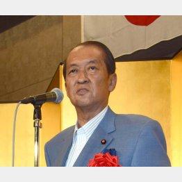 鳩山邦夫元総務相(写真)の次男が出馬意向/(C)日刊ゲンダイ