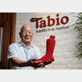 タビオの越智直正会長