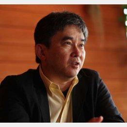 小説家の真山仁さん