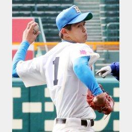 花咲徳栄・高橋昂也は3季連続出場