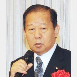 谷垣幹事長の後任に起用された二階総務会長(C)日刊ゲンダイ