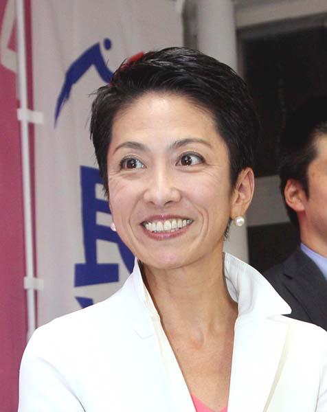 蓮舫氏は9月の代表選出馬に向け最終調整に(C)日刊ゲンダイ