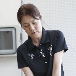 増田能子プロ<2>両脇を締めずゆとりを持たせるとスイングがスムーズになる