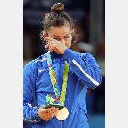 初めて選手団を派遣したコソボに金メダルをもたらした(C)真野慎也/JMPA