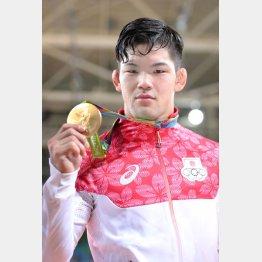 金メダルを獲得した大野将平