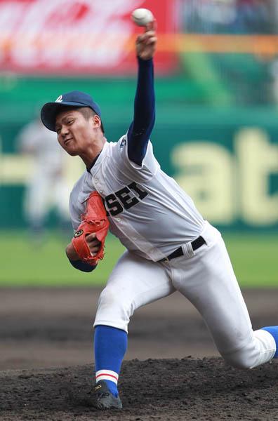 甲子園11Kデビューの寺島(C)日刊ゲンダイ