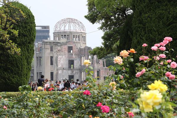広島の原爆ドーム(C)日刊ゲンダイ