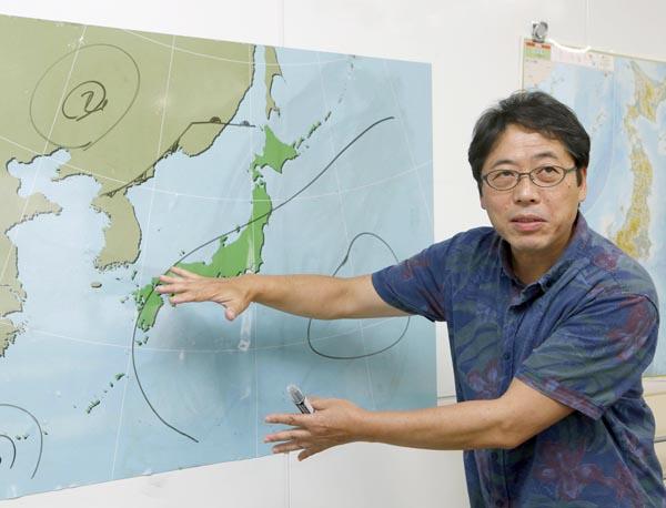 気象予報士の森朗さん(C)日刊ゲンダイ