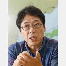 森朗さんは36歳で気象予報士に転身(C)日刊ゲンダイ