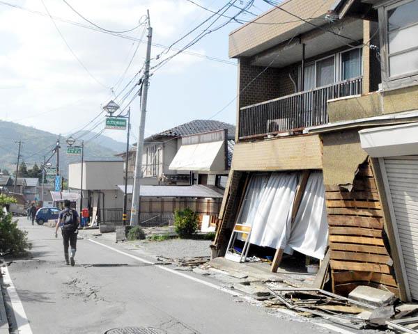 熊本地震の11日前はバヌアツでM6.8が(C)日刊ゲンダイ